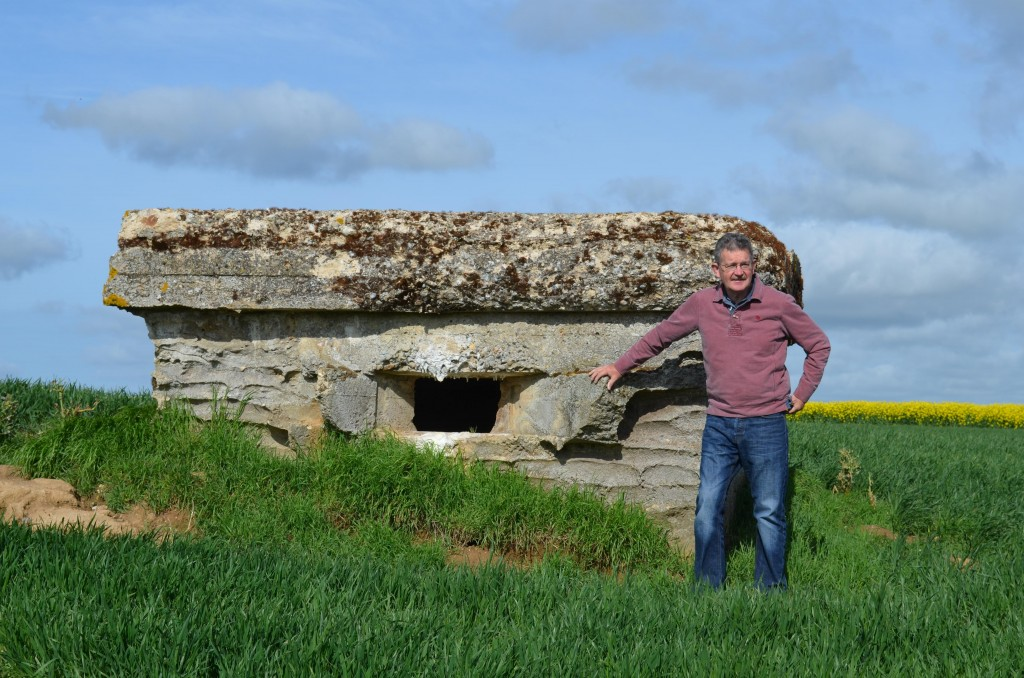 Andy at Beaumont HamelOP